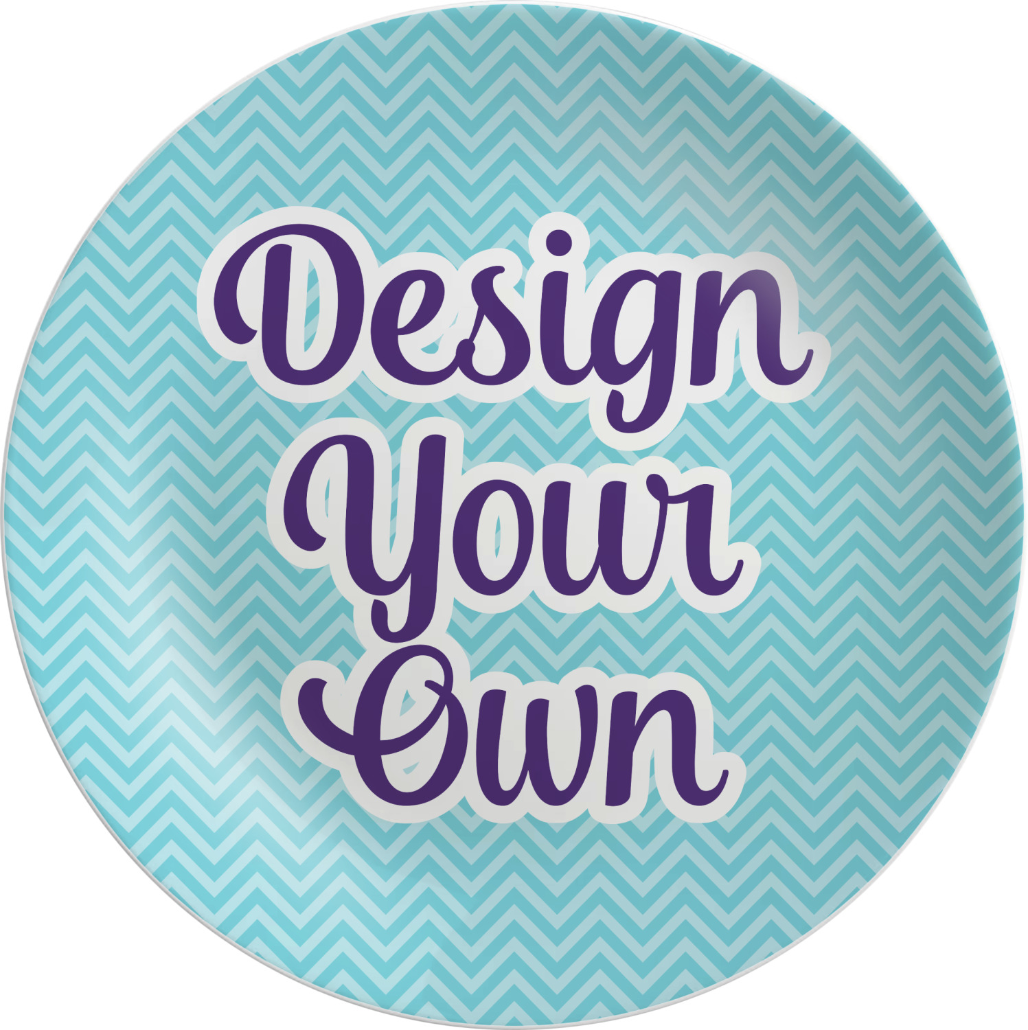 Design your own melamine plate personalized youcustomizeit for Be your own architect