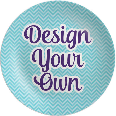 Design Your Own Personalized Melamine Plate - 10""
