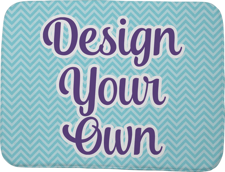 Design Your Own Memory Foam Bath Mat Personalized Youcustomizeit