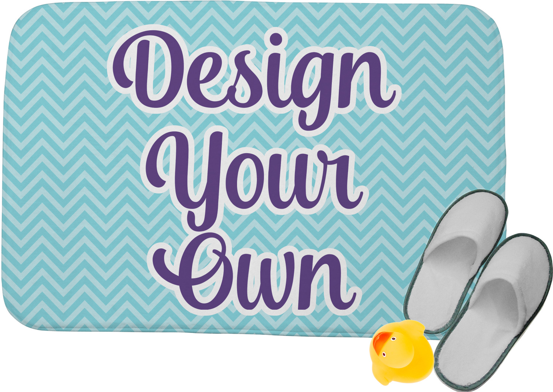 Design Your Own Memory Foam Bath Mat Youcustomizeit