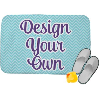 "Design Your Own Memory Foam Bath Mat - 34""x21"" (Personalized)"