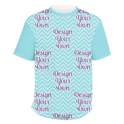 Design Your Own Personalized Men's Crew T-Shirt