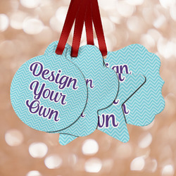 Design Your Own Metal Ornaments - Double Sided