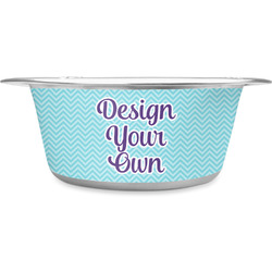 Design Your Own Stainless Steel Pet Bowl - Medium (Personalized)