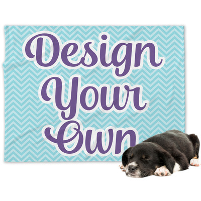 Design Your Own Personalized Minky Dog Blanket - Large