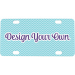 Design Your Own Mini / Bicycle License Plate (Personalized)