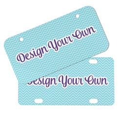 Design Your Own Mini/Bicycle License Plates
