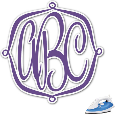 Design Your Own Personalized Monogram Iron On Transfer