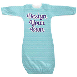 Design Your Own Newborn Gown - 3-6 (Personalized)