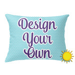 Design Your Own Outdoor Throw Pillow (Rectangular) (Personalized)