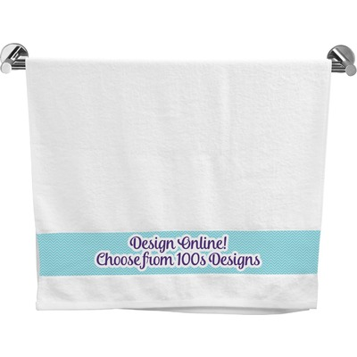 Design your own bath towel personalized youcustomizeit for Design your own bathroom