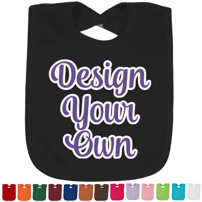 Design Your Own Personalized Baby Bib - 14 Bib Colors
