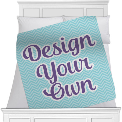 Design Your Own Minky Blanket