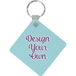 Design Your Own Diamond Key Chain (Personalized)