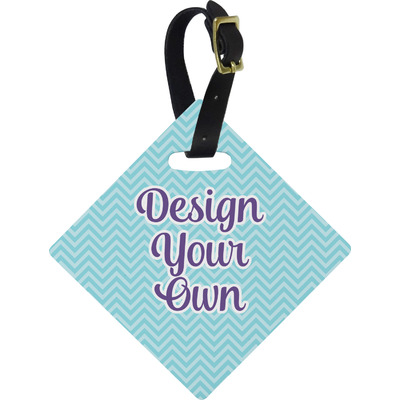 Design Your Own Personalized Diamond Luggage Tag