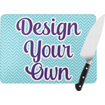 Design Your Own Rectangular Glass Cutting Board (Personalized)