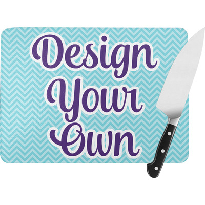 Design Your Own Personalized Rectangular Glass Cutting Board