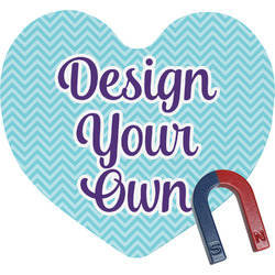 Design Your Own Heart Fridge Magnet (Personalized)