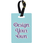 Design Your Own Rectangular Luggage Tag (Personalized)