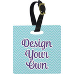 Design Your Own Square Luggage Tag (Personalized)