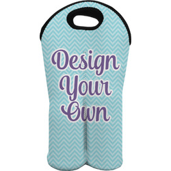 Design Your Own Wine Tote Bag (2 Bottles) (Personalized)