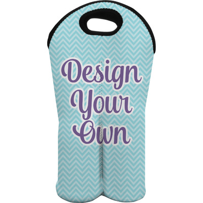 Design Your Own Personalized Wine Tote Bag (2 Bottles)