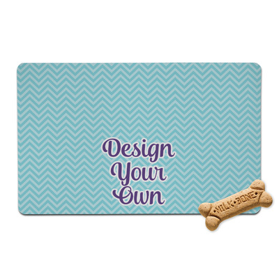 Design Your Own Personalized Pet Bowl Mat
