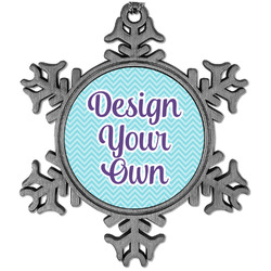 Design Your Own Vintage Snowflake Ornament