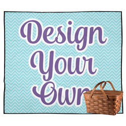 Design Your Own Outdoor Picnic Blanket (Personalized)