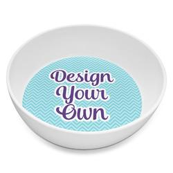Design Your Own Melamine Bowl - 8 oz