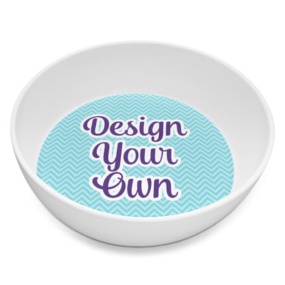 Design Your Own Personalized Melamine Bowl - 8 oz