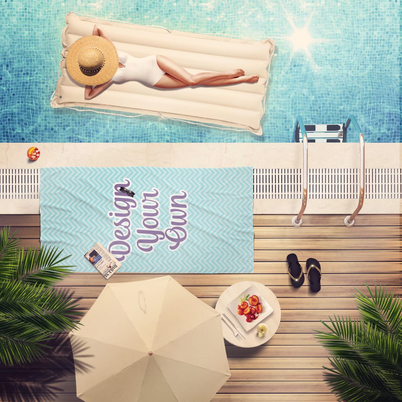 Design Your Own Beach Towel - YouCustomizeIt