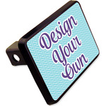 "Design Your Own Rectangular Trailer Hitch Cover - 2"" (Personalized)"