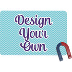 Design Your Own Rectangular Fridge Magnet (Personalized)