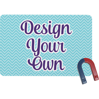 Design Your Own Personalized Rectangular Fridge Magnet