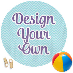 Design Your Own Round Beach Towel
