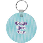 Design Your Own Round Keychain