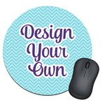 Design Your Own Round Mouse Pad (Personalized)