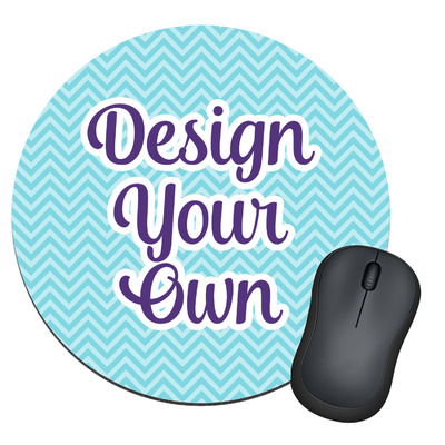 Design Your Own Personalized Round Mouse Pad