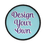 Design Your Own Iron On Round Patch