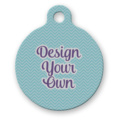 Design Your Own Personalized Round Pet Tag