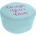 Design Your Own Round Pouf Ottoman