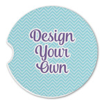 Design Your Own Sandstone Car Coasters (Personalized)