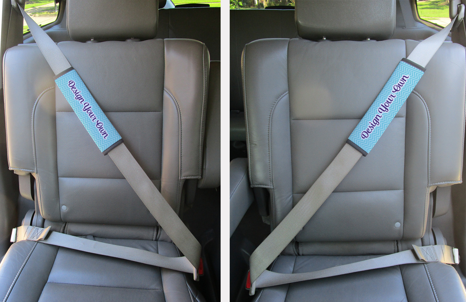 Design Your Own Seat Belt Covers Set Of 2 Personalized