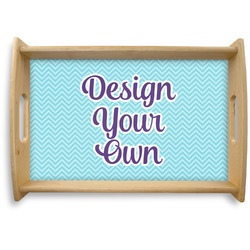 Design Your Own Natural Wooden Tray (Personalized)