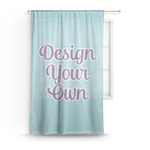 Design Your Own Sheer Curtains (Personalized)