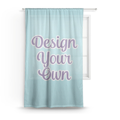 Design Your Own Personalized Sheer Curtains