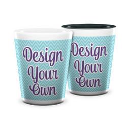 Design Your Own Ceramic Shot Glass - 1.5 oz