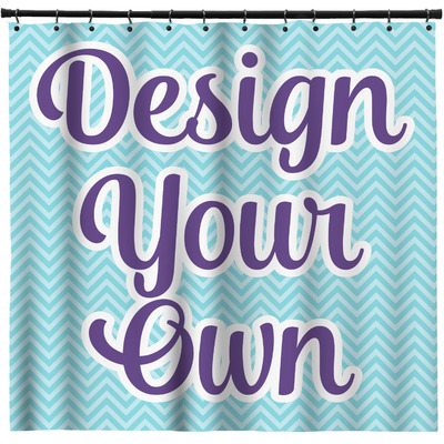 Personalized Shower Curtains Custom Width Height
