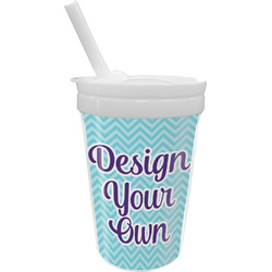 Design Your Own Sippy Cup with Straw (Personalized)